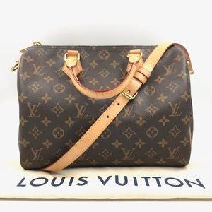 Authentic Louis Vuitton SpeedyBandouliere 30